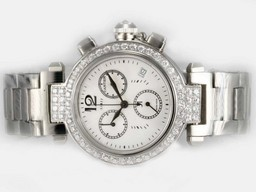 Cartier Pasha Diamond Watch Price